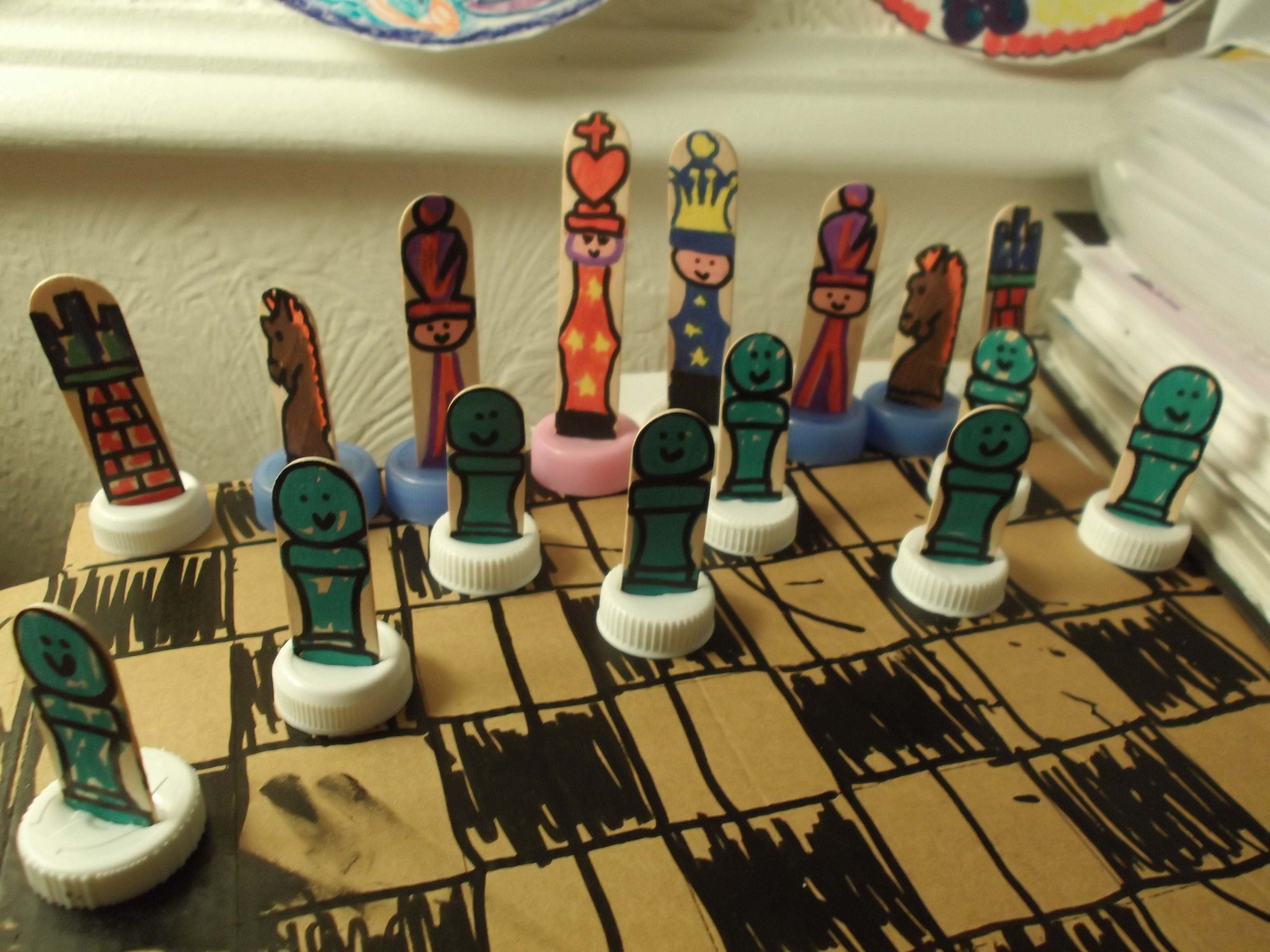 Anyone For Toddler Chess?