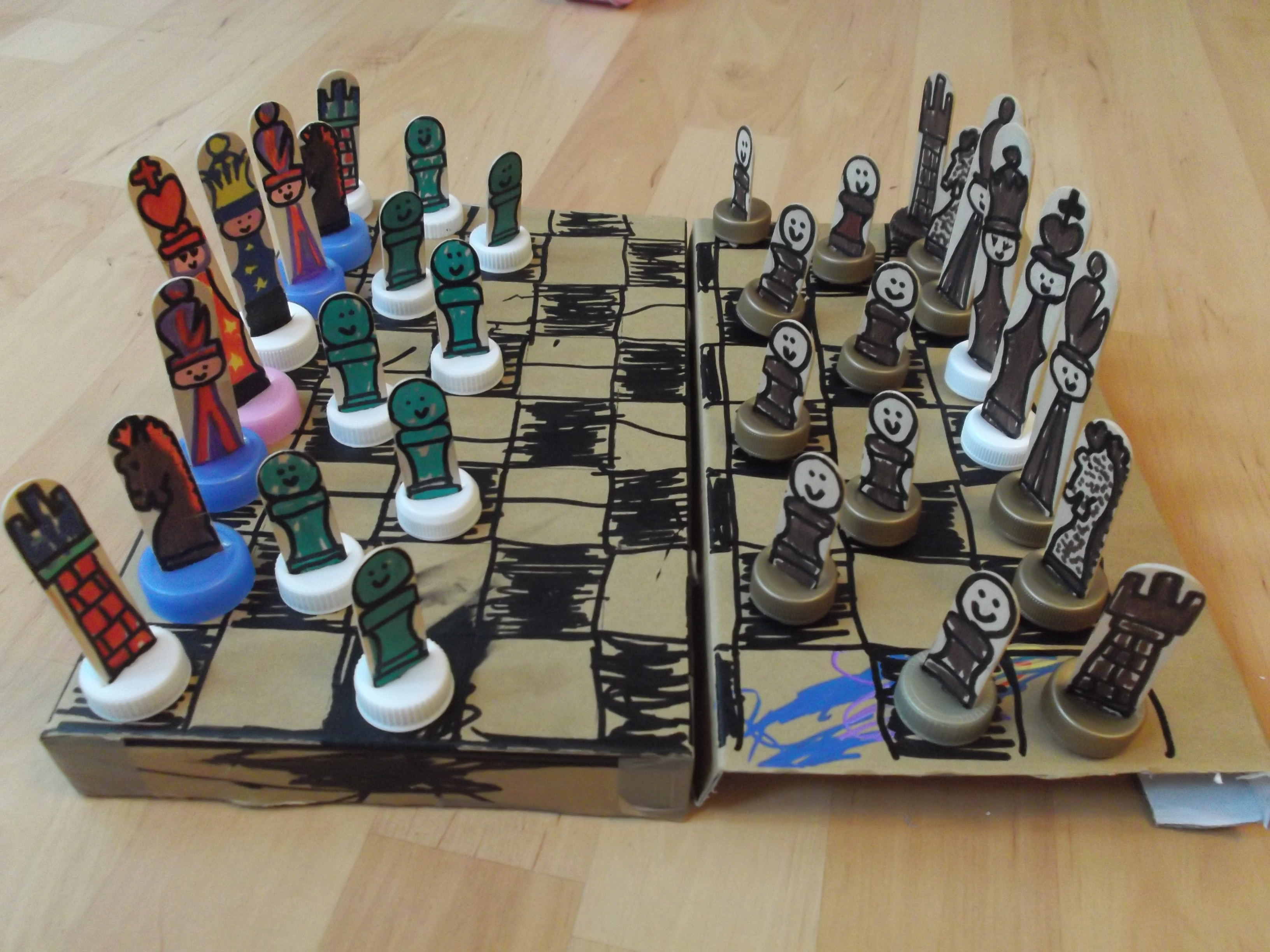 Week Chess Chess Set Tutorial And A Makaton Side Note